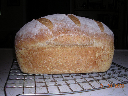 Amy's Almost No Knead Sandwich Loaf