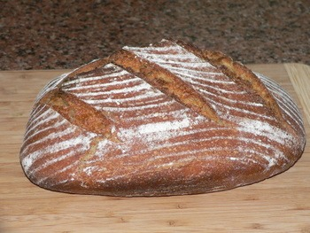 Whole Spelt Sourdough Bread