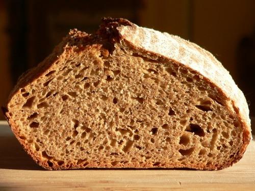 Whole Grain Spelt Sourdough