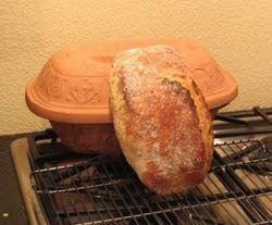 Romertopf-Crust