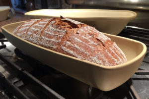 Oblong la cloche bread baker