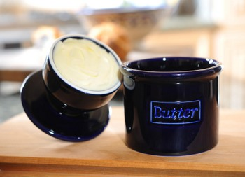 Butter Bell Cobalt open