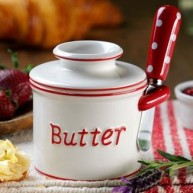 Butter Bell Parisian Polka Dot