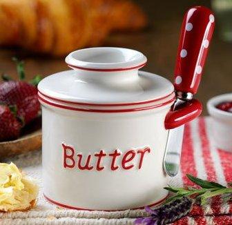 Butter Bell Parisian Polka Dot