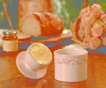 Butter Bell Ivory Rose Open