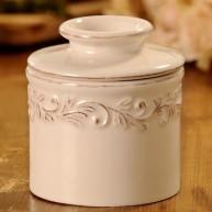 Butter Bell Ivory Rose