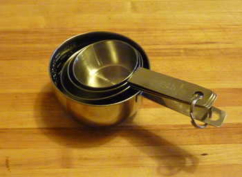 Measuring Cups Nested-Stainless