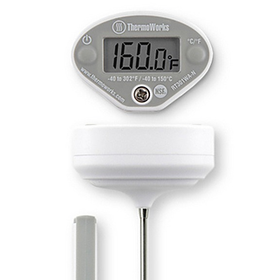 instant read thermometer top display