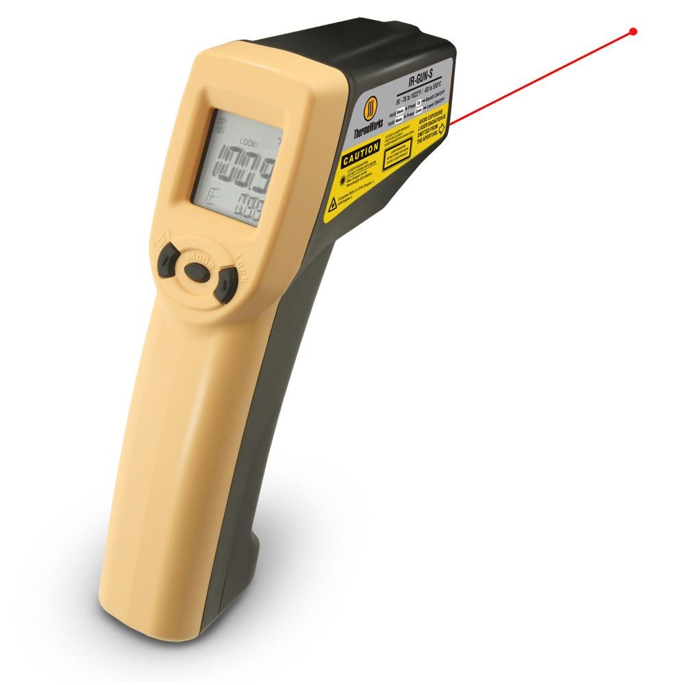 Used Wood Fired Pizza Oven Infrared Thermometer with Laser | Breadtopia