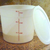 Dough Bucket 6qt