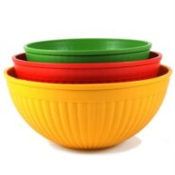 Nordic Ware 3 Piece Bowl Set