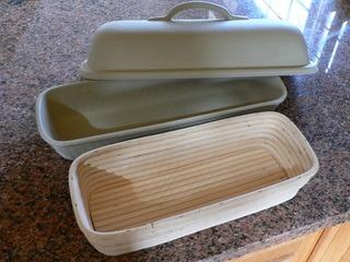 Oblong Brotform Proofing Basket Breadtopia