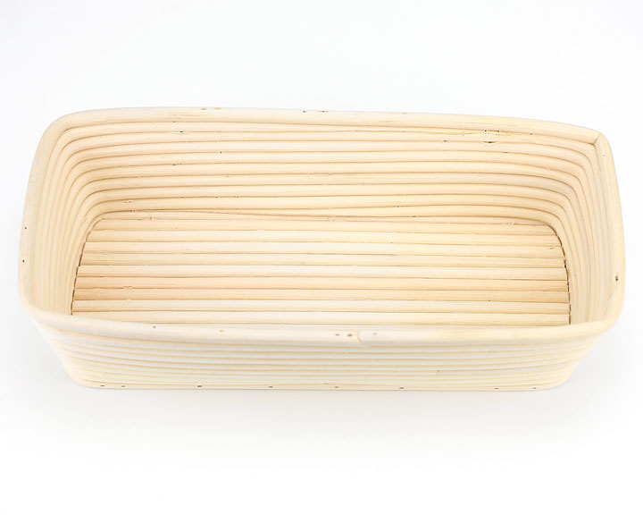 Line Pattern Oblong Breadtopia Wood Pulp Proofing Baskets