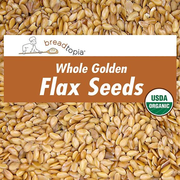 organic golden flax seeds breadtopia. Black Bedroom Furniture Sets. Home Design Ideas