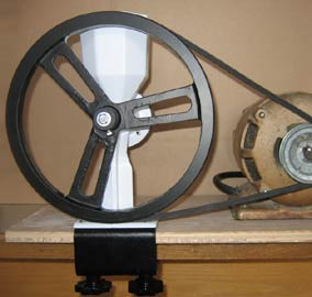 wondermill jr pulley