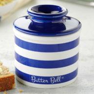 Butter Bell Blue Stripe