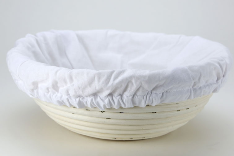 how to use a bread proofing basket