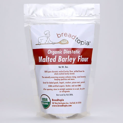Organic Diastatic Barley Malt Powder | Breadtopia