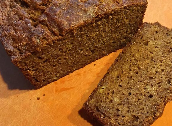 Moist Whole Wheat Banana Bread