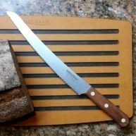 Curved Blade Bread Knife