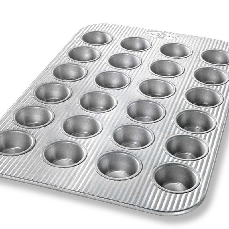 Usa Pan 24 Mini Cupcake Pan Breadtopia