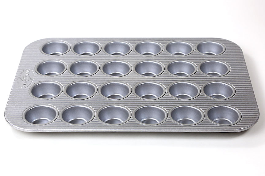 Usa Pan 24 Mini Cupcake Pan Breadtopia