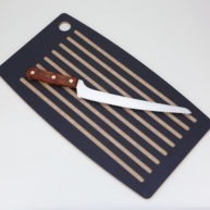 Bread knife & cutting board combo