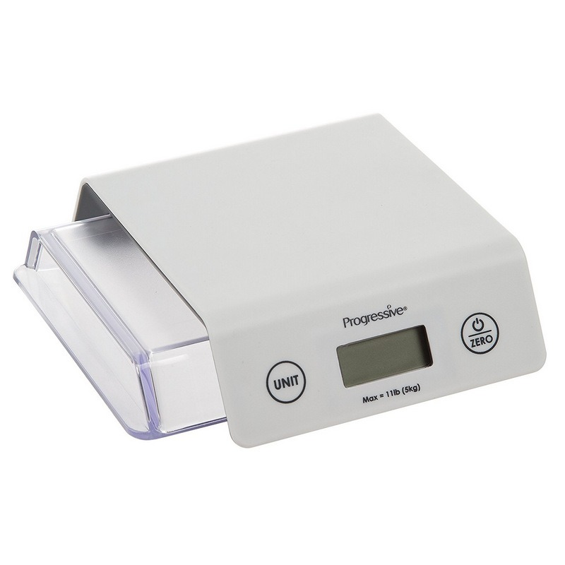 Digital Kitchen Scale: Compact Digital Kitchen Scale – By Progressive