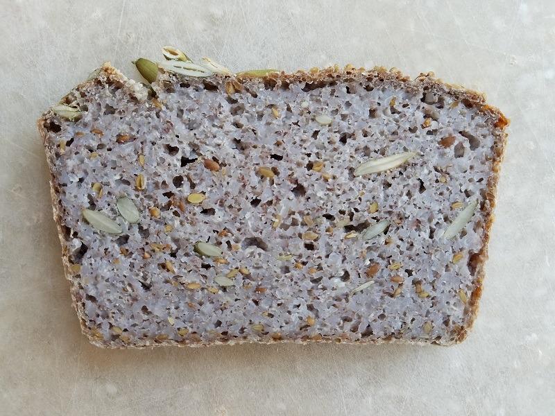Gluten Free Fermented Buckwheat Bread