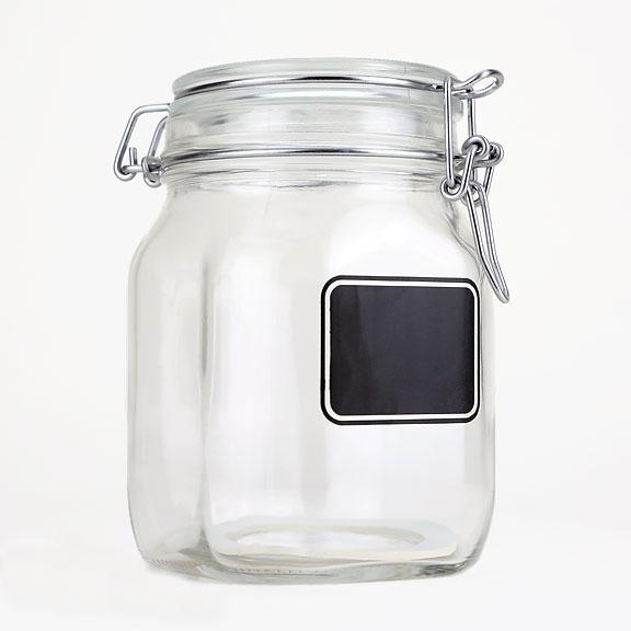 Chalkboard Sourdough Starter Jar 1 Quart Breadtopia