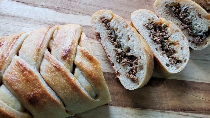 sourdough stromboli breadtopia