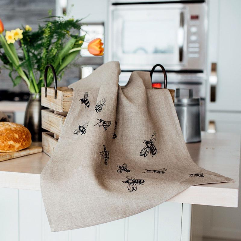 cornish linen tea towels breadtopia. Black Bedroom Furniture Sets. Home Design Ideas