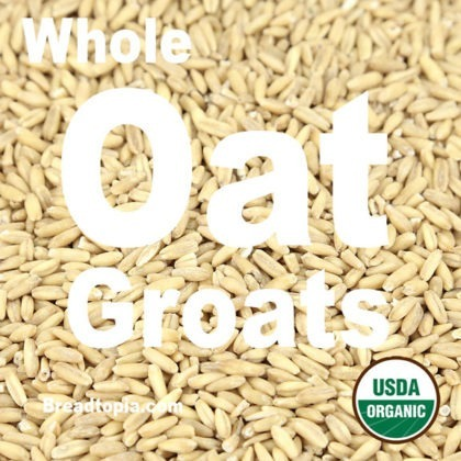 Organic Whole Oat Groats - 2 lbs