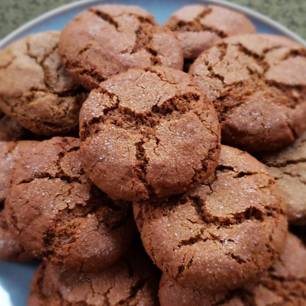 Whole Grain Ginger Snaps