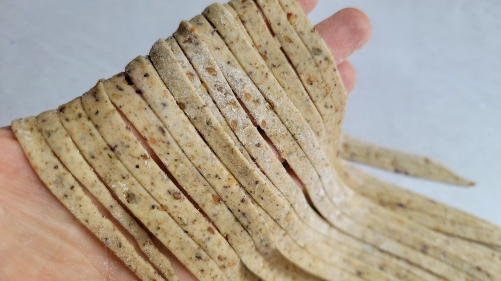 Za'atar Sourdough Pasta