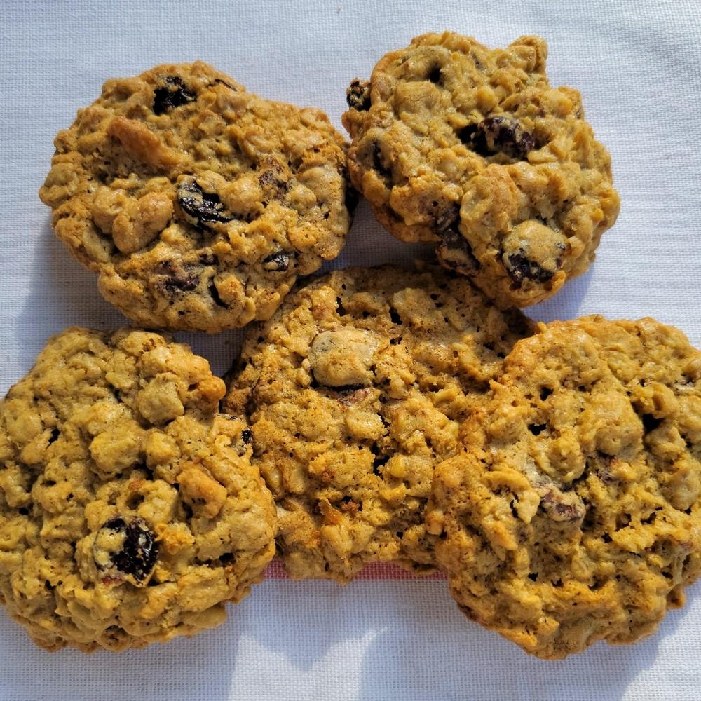 Almost Granola Bar Cookies
