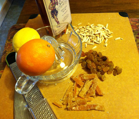 stollen fruit mix ingredients