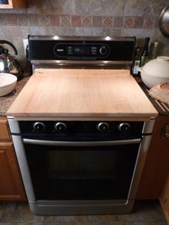 Stove top into kneading board