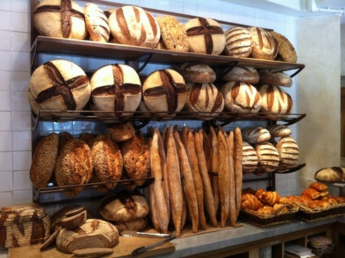 Le Pain Quotidien Bakery, Mexico City
