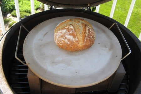 Baking Bread In A Big Green Egg Breadtopia
