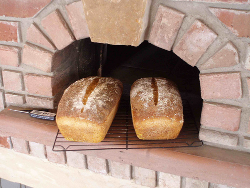 Mikes Almost No Knead - Hearth Baked